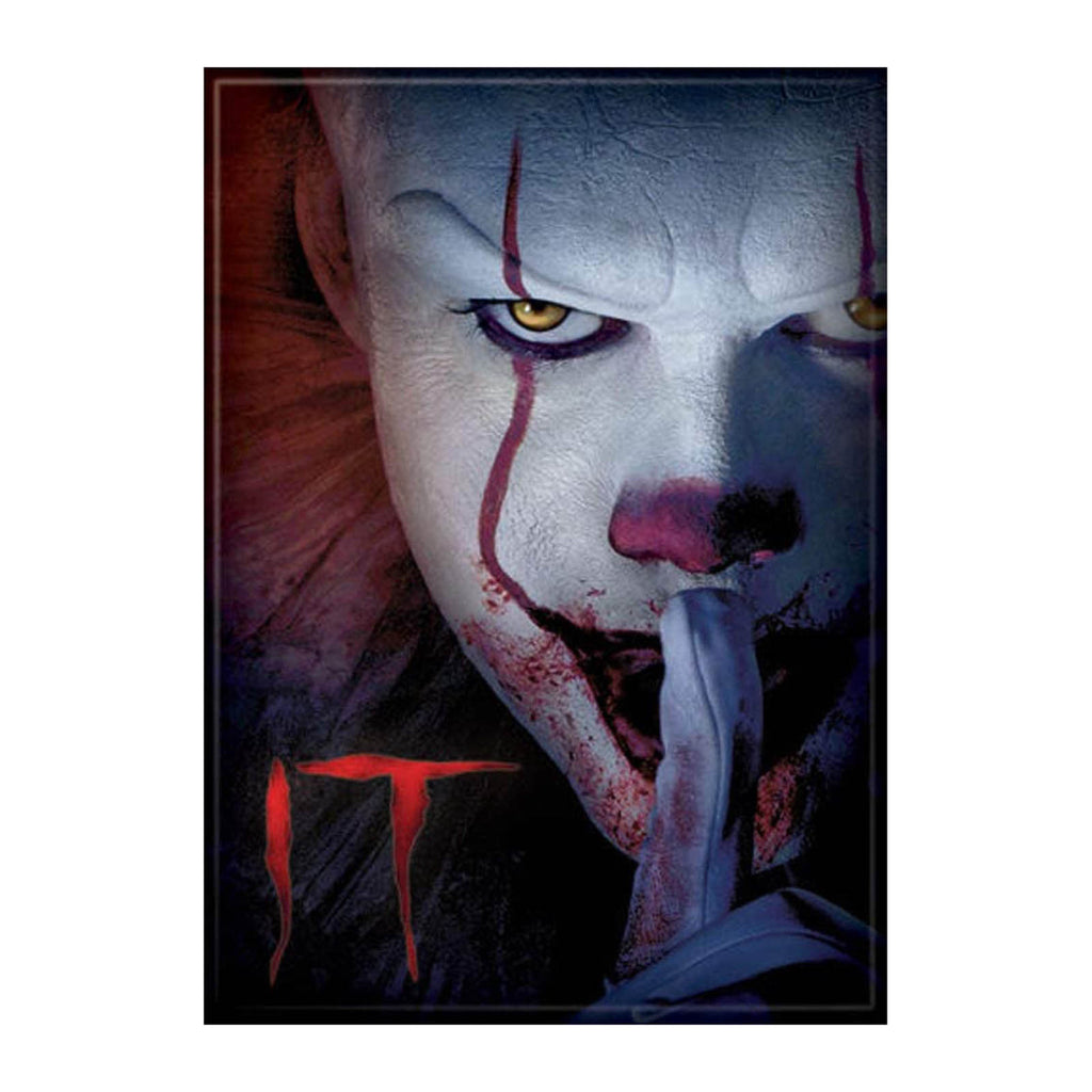 Ata-Boy IT Movie 2017 Pennywise And Logo Magnet