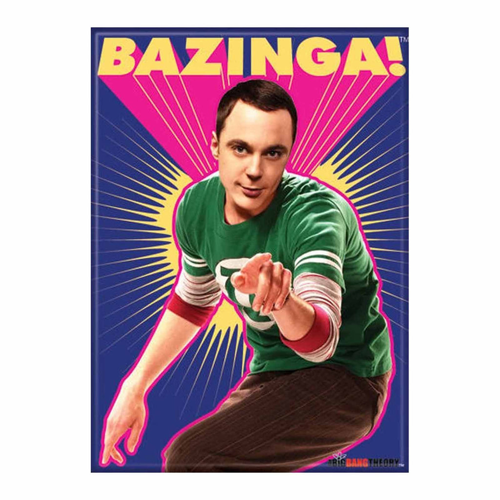 Ata-Boy The Big Bang Theory Bazinga Sheldon Magnet