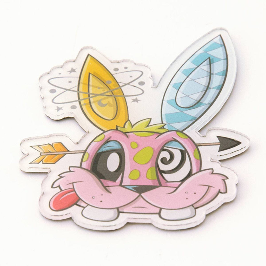 Chaos Bunnies Magnet Series Funny Bunny Magnet