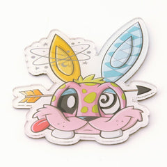 Chaos Bunnies Magnet Series Funny Bunny Magnet - Radar Toys