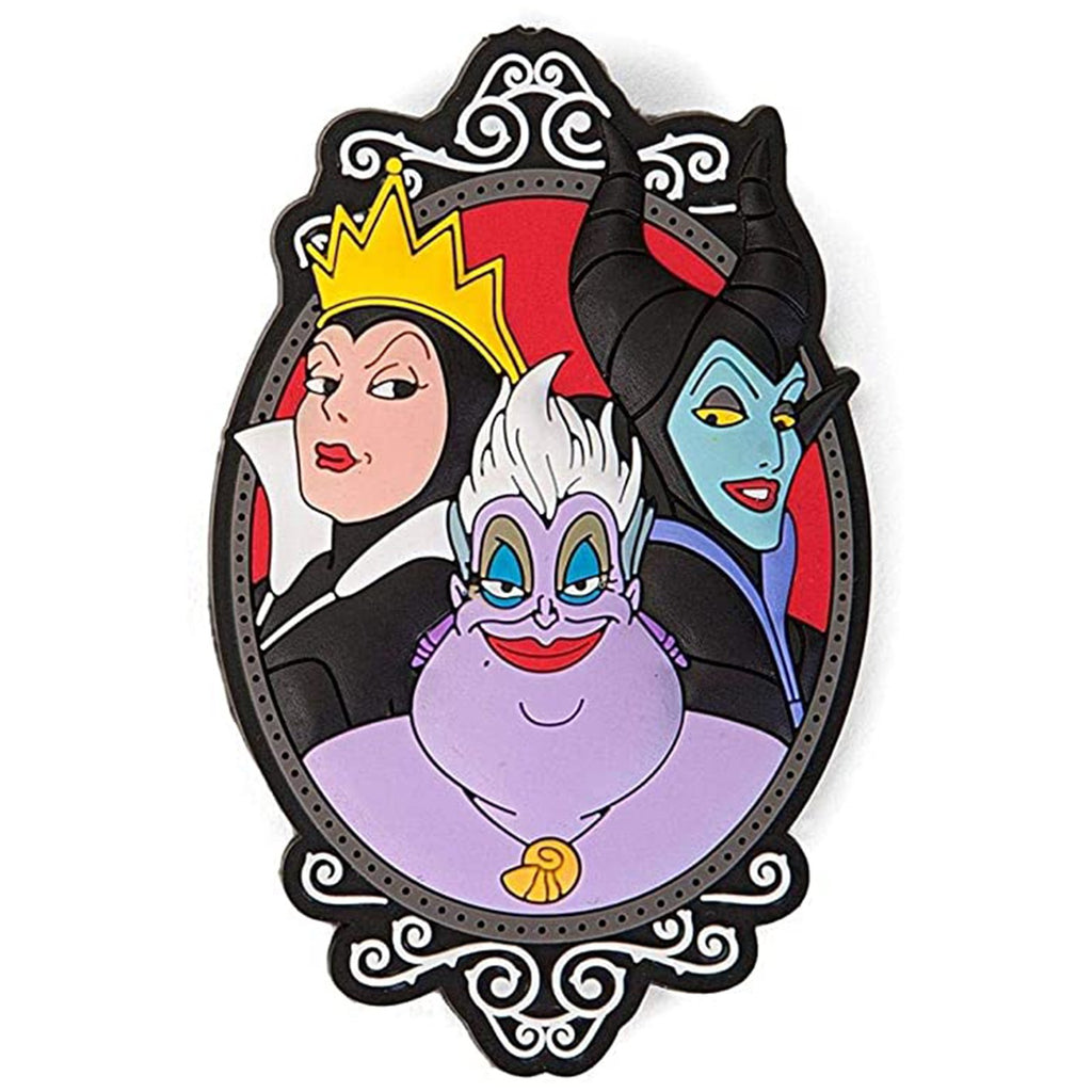 Disney Villains Evil Queen Maleficent And Ursula Soft Touch Magnet
