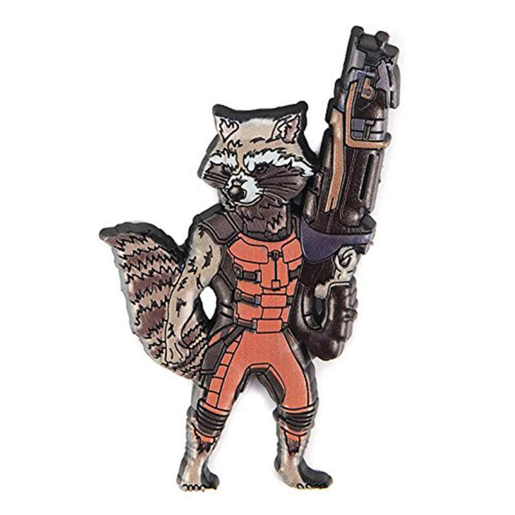 Guardians of the Galaxy Rocket Raccoon Soft Touch Magnet