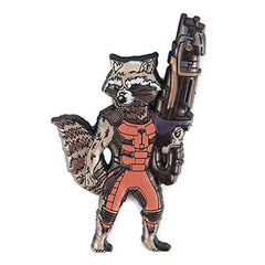 Guardians of the Galaxy Rocket Raccoon Soft Touch Magnet - Radar Toys