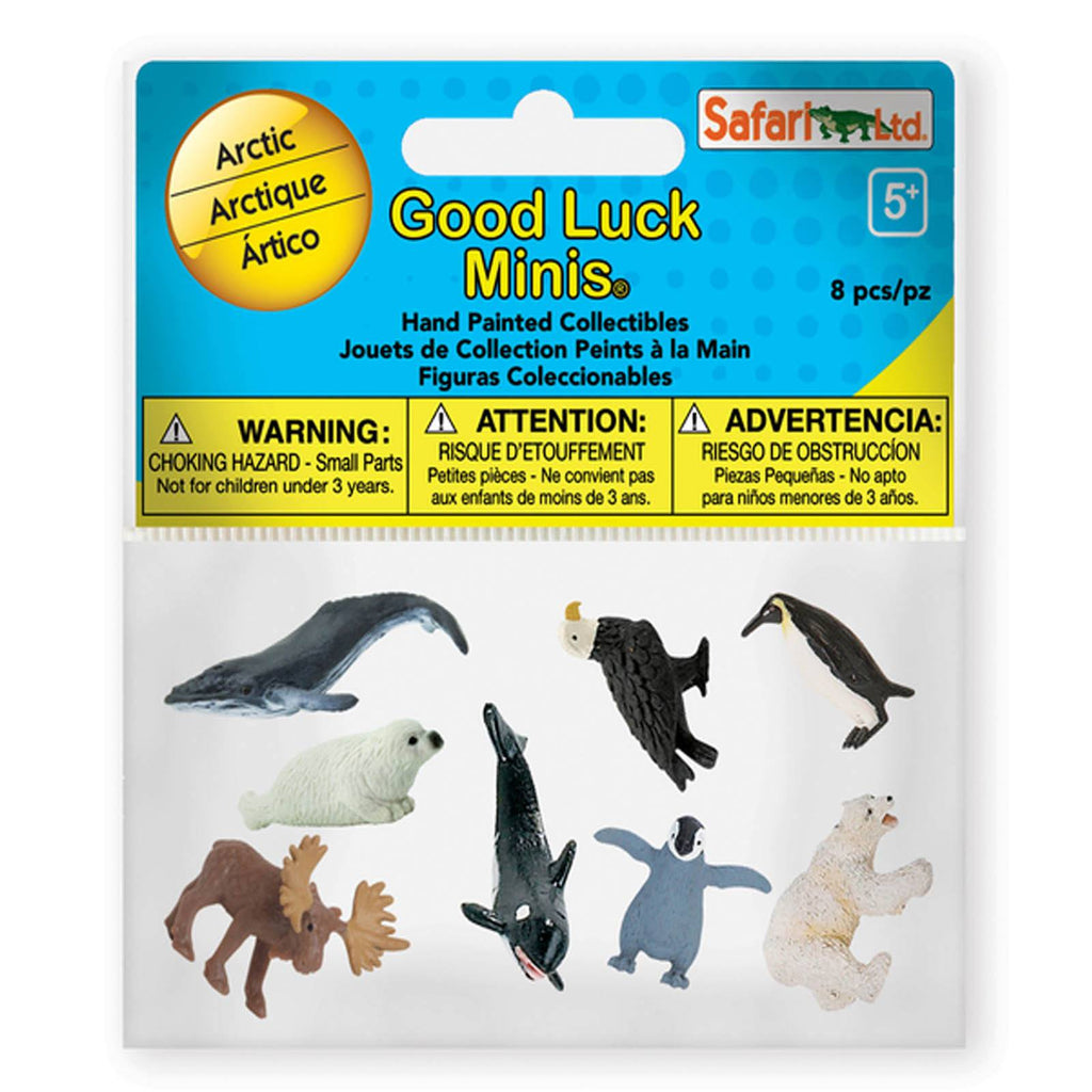 Arctic Pack Mini Good Luck Figures Safari Ltd - Radar Toys