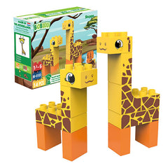 Mammal Figures - Biobuddi Steppe ECO Friendly Building Set 100640
