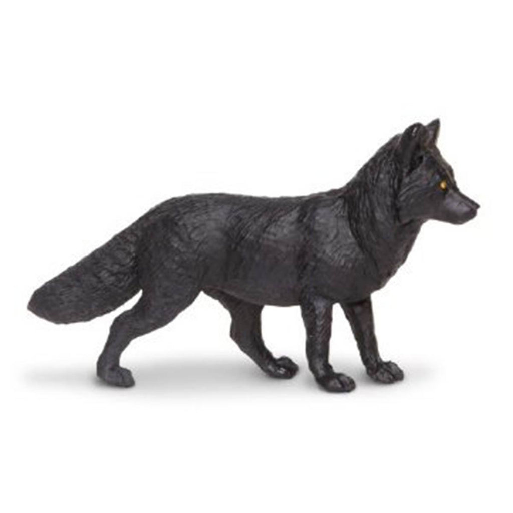 Black Fox North American Wildlife Figure Safari Ltd - Radar Toys
