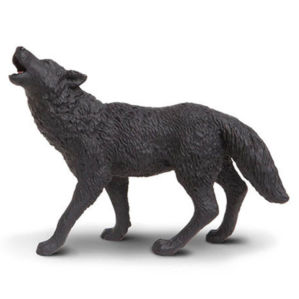 Black Wolf North American Wildlife Figure Safari Ltd - Radar Toys