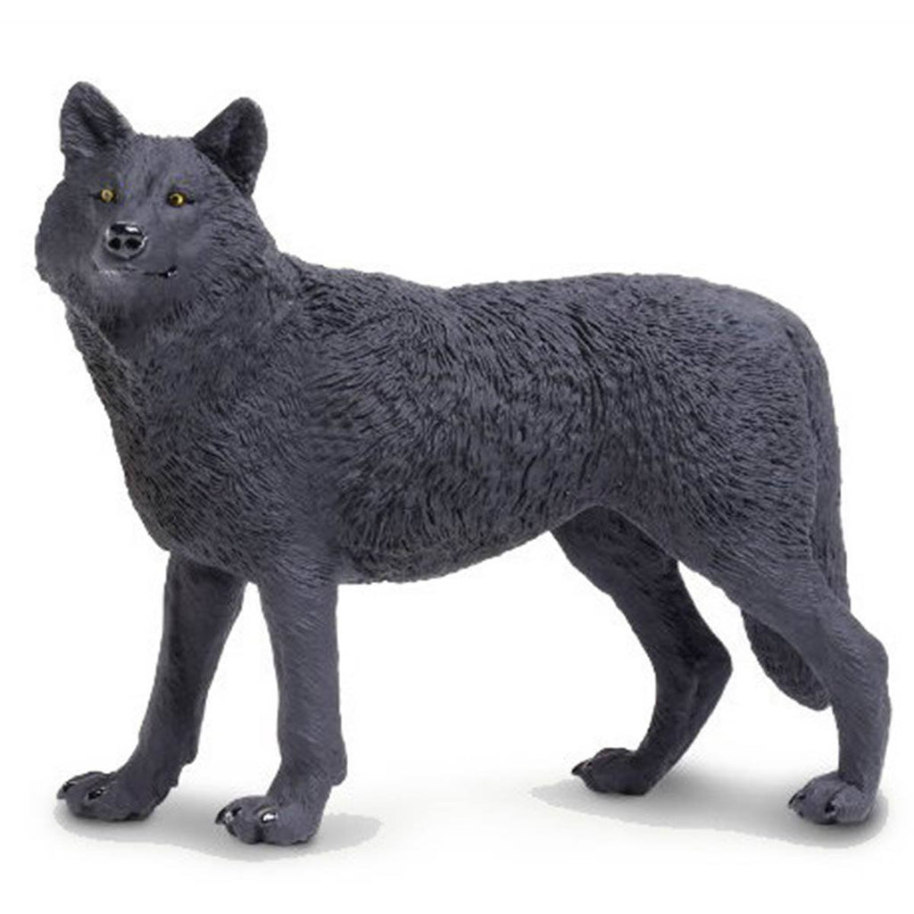Black Wolf Wildlife Wonders Figure Safari Ltd - Radar Toys