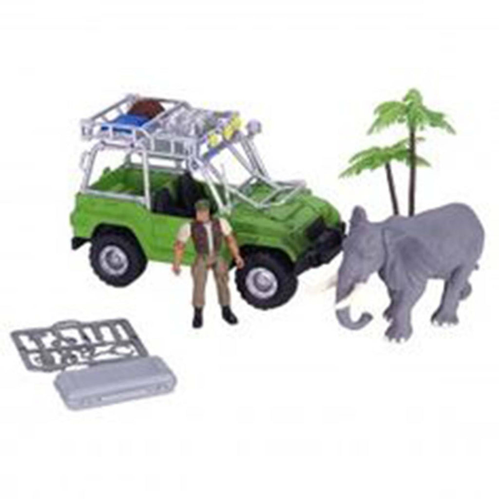 E-Team African Safari Expedition Figures Playset