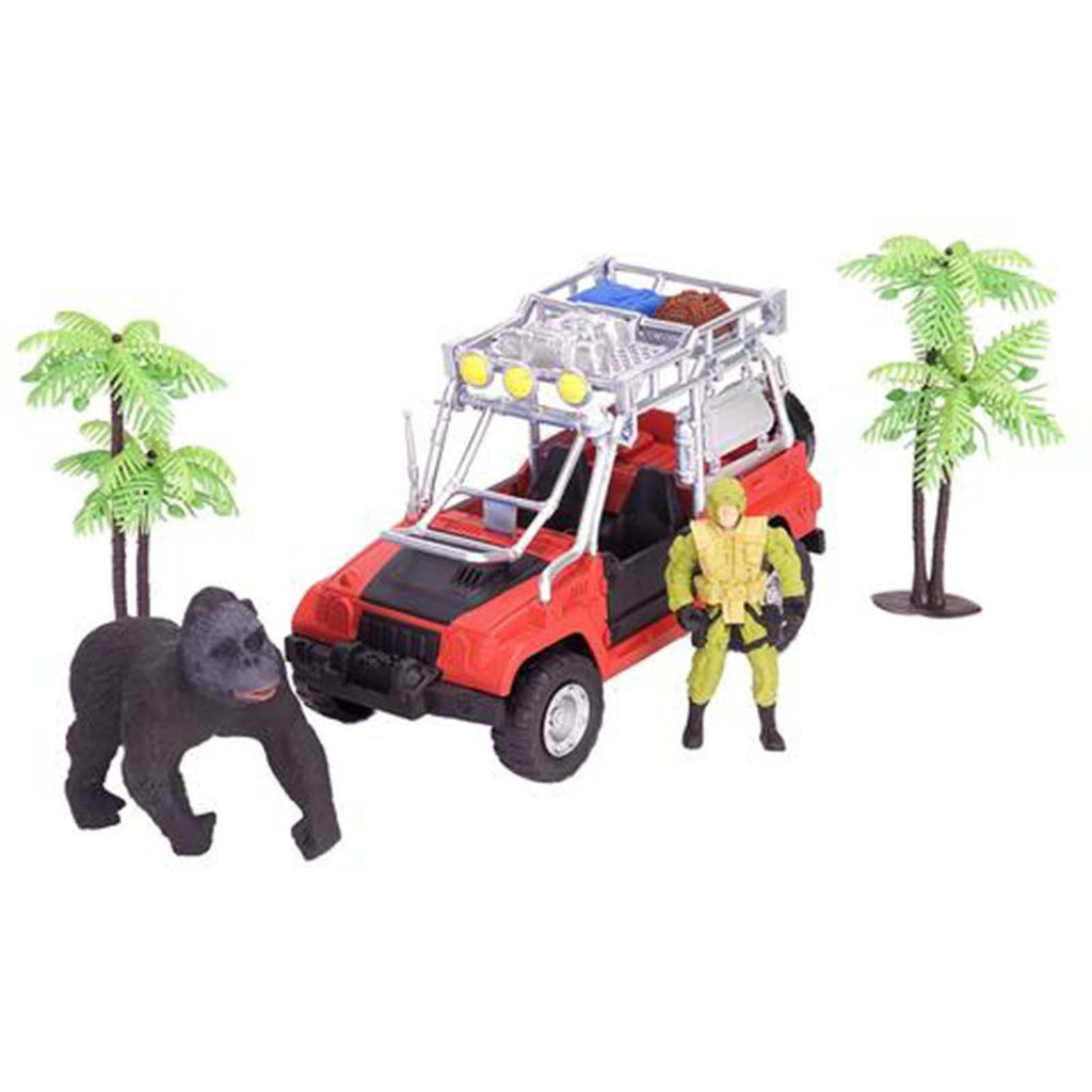 E-Team Congo Gorilla Research Figures Playset