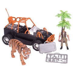Mammal Figures - E-Team Tiger Rescue Figures Playset