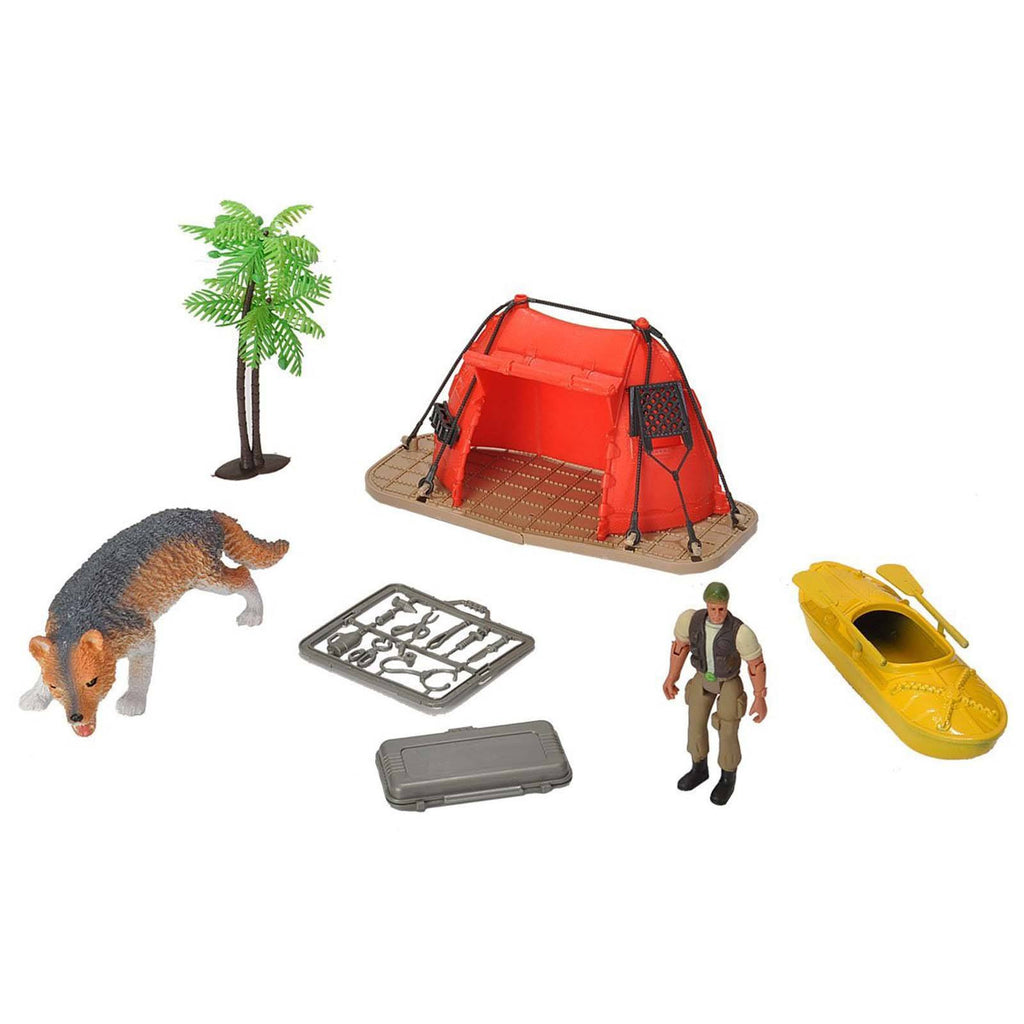 E-Team Wolf Science Expedition Figures Playset