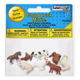 Farm Fun Pack Mini Good Luck Figures Safari Ltd - Radar Toys