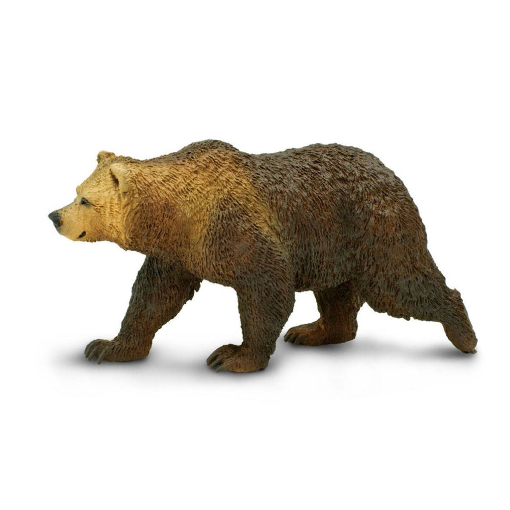 Grizzly Bear North American Wildlife Figure Safari Ltd - Radar Toys