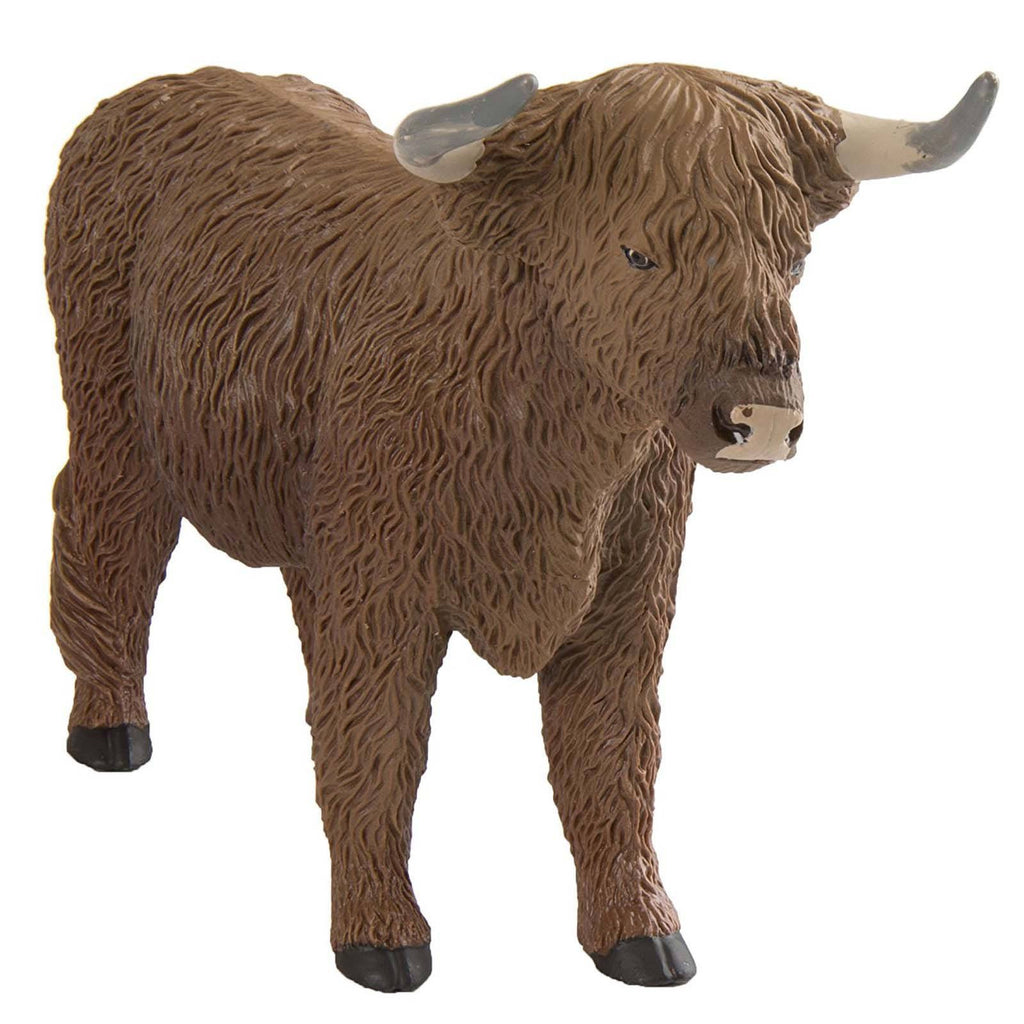 Highland Bull Wild Safari Figure Safari Ltd