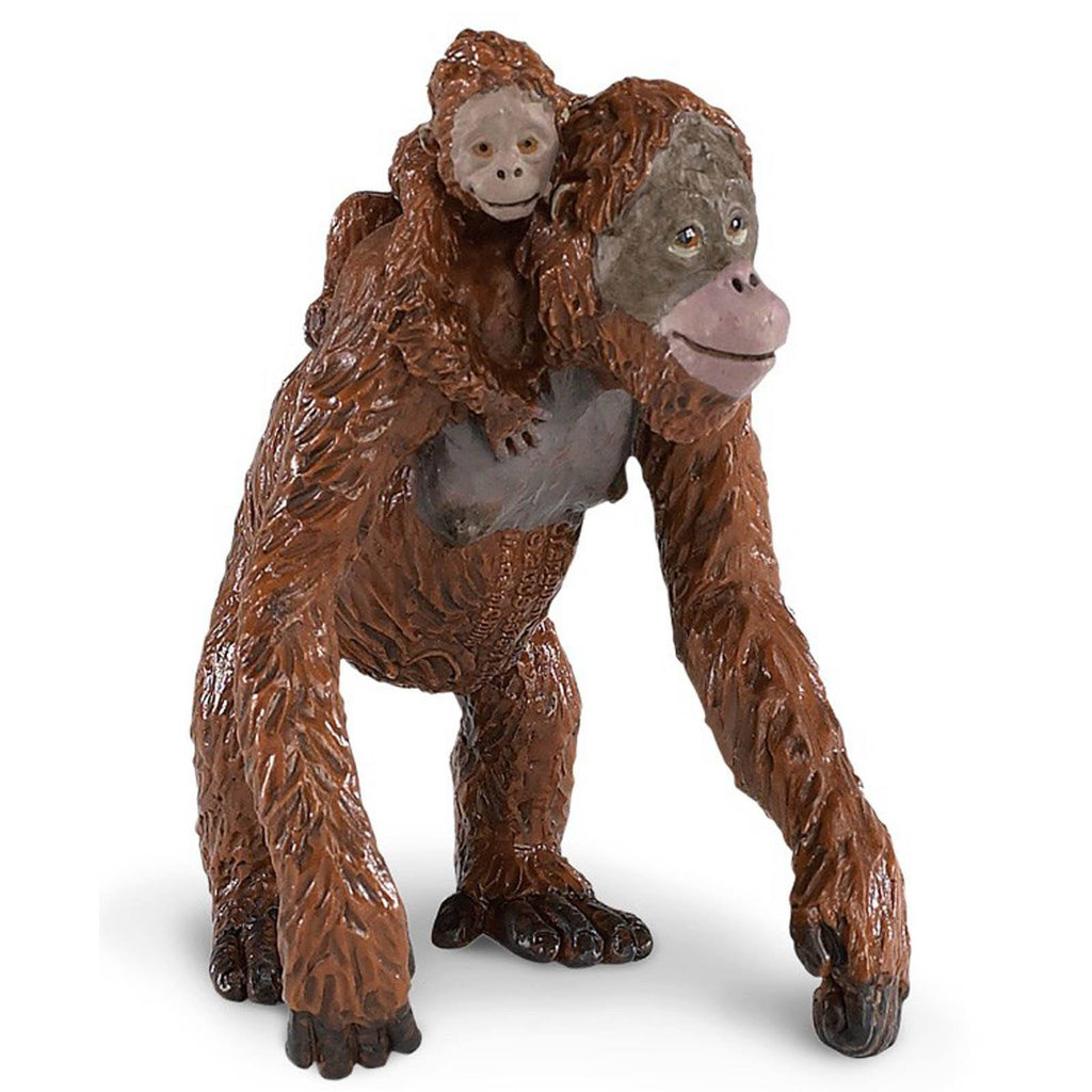 Orangutan With Baby Wildlife Figure Safari Ltd