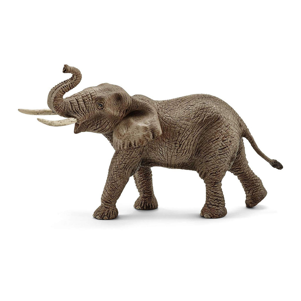Schleich African Elephant Male Animal Figure