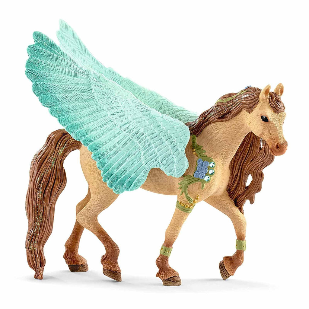 Schleich Decorated Pegasus Stallion Bayala Fantasy Figure 70574