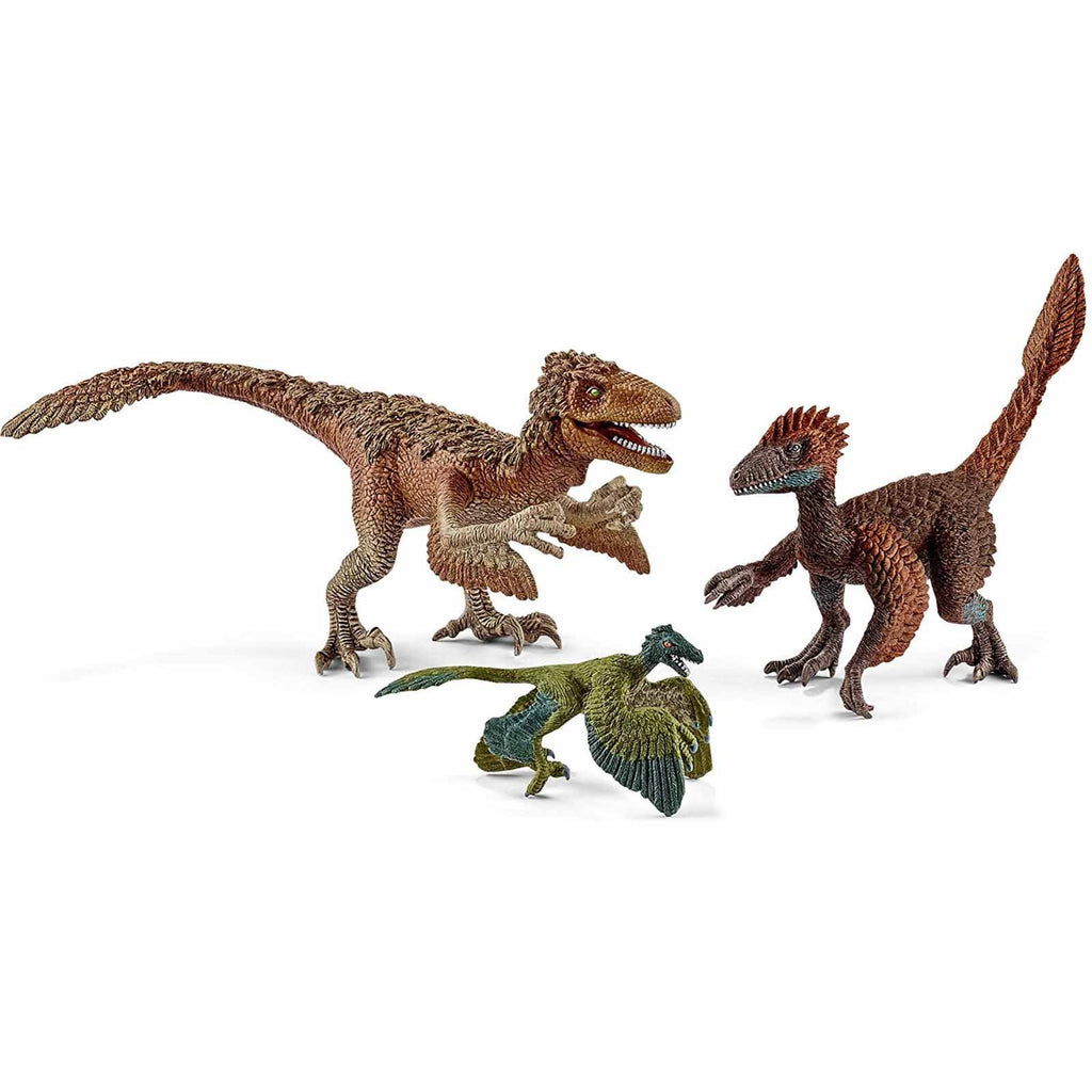 Mammal Figures - Schleich Feathered Raptors Dinosaur Figure Set 42347