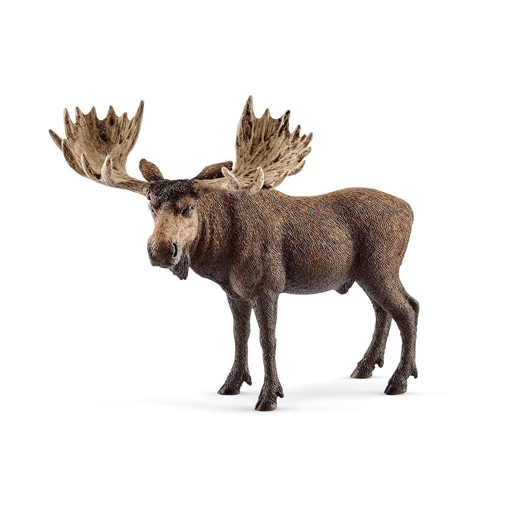 Schleich Moose Bull Animal Figure