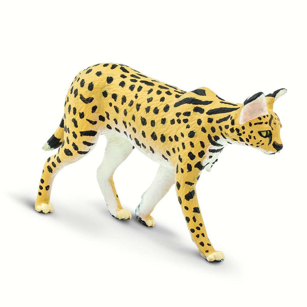 Serval Wild Safari Animal Figure Safari Ltd 100237