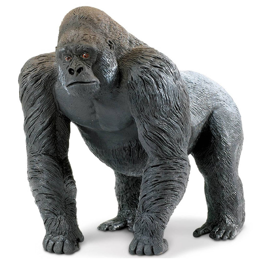 Silverback Gorilla Wildlife Wonders Figure Safari Ltd
