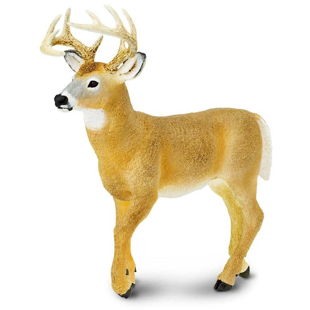 Whitetail Deer Buck Incredible Creatures Figure Safari Ltd