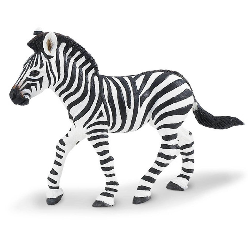 Zebra Foal Wildlife Figure Safari Ltd - Radar Toys