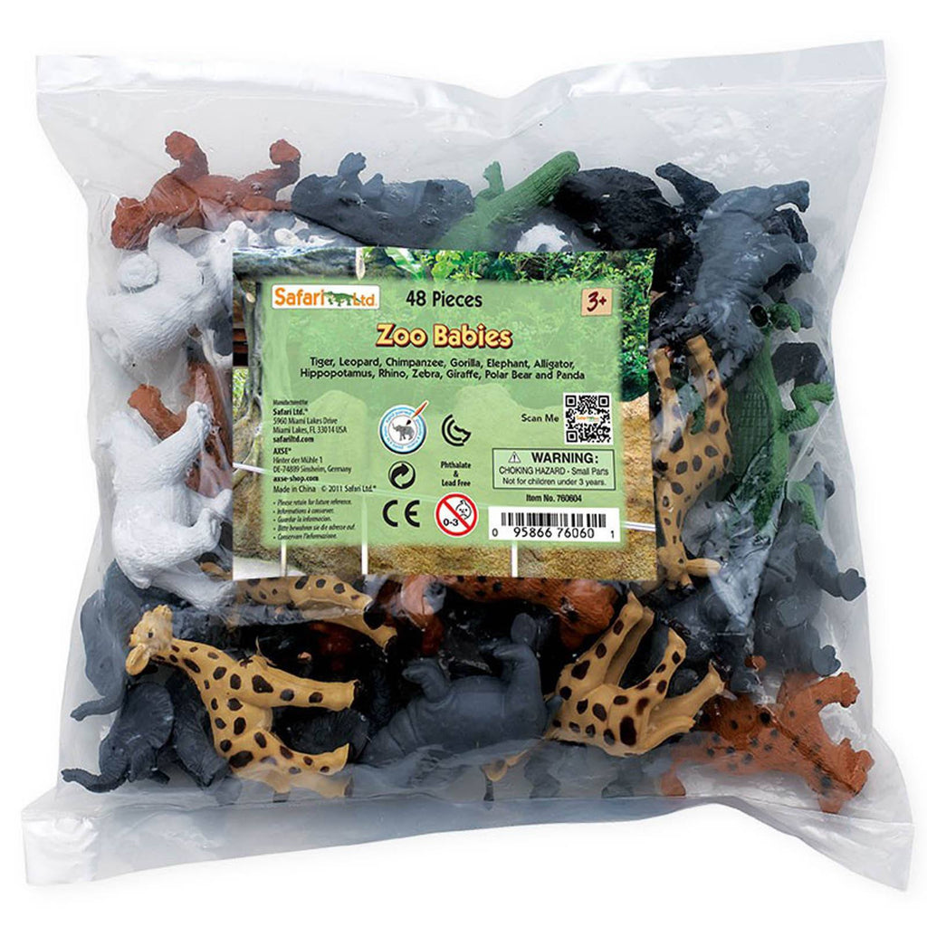 Zoo Babies Bulk Bag Mini Figures Safari Ltd - Radar Toys
