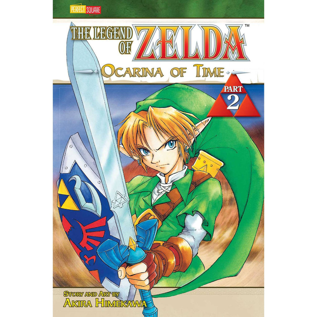 The Legend of Zelda Ocarina of Time Part 2 Manga Paperback Book