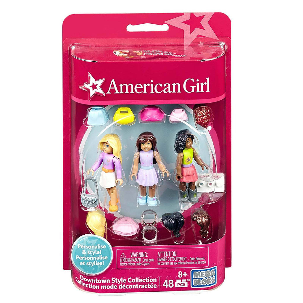 Mega Bloks American Girl Downtown Style Collection Accessory Building Set