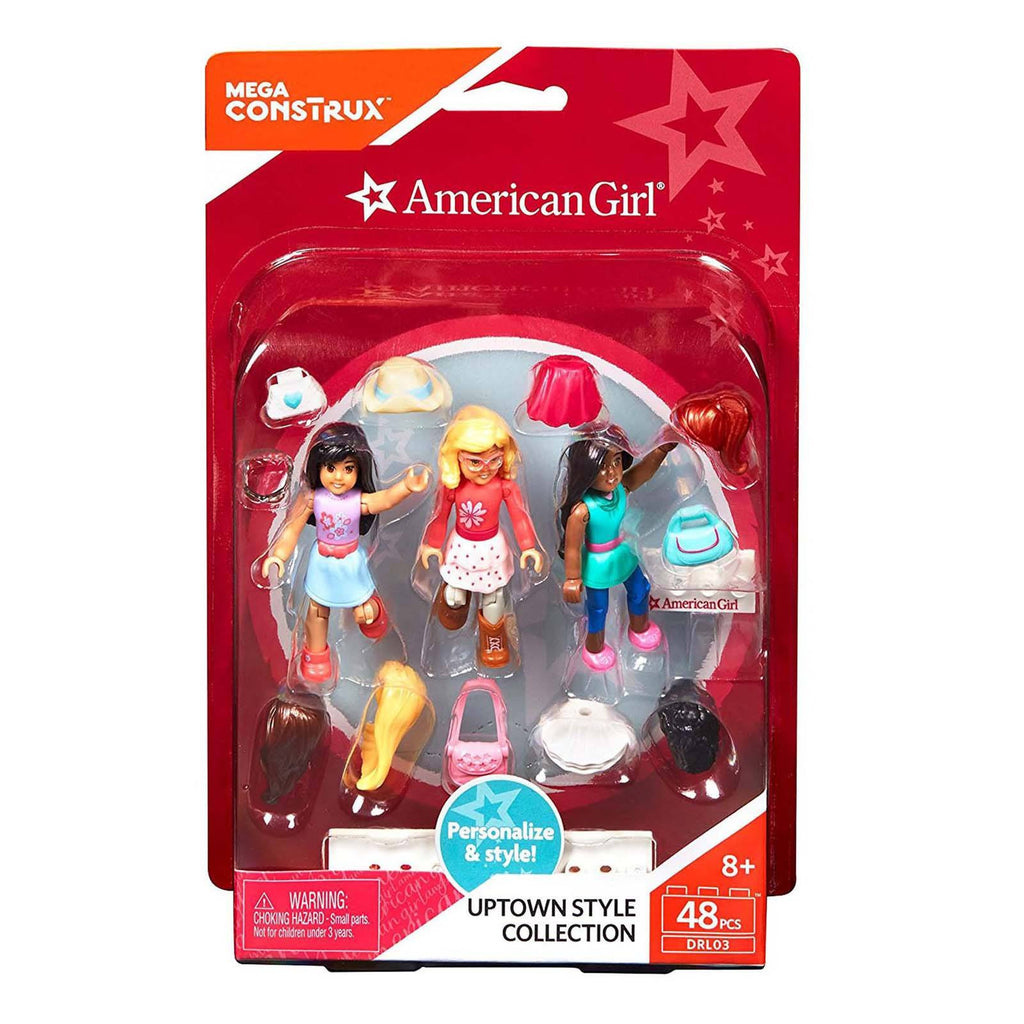 Mega Bloks American Girl Uptown Style Collection Accessory Building Set