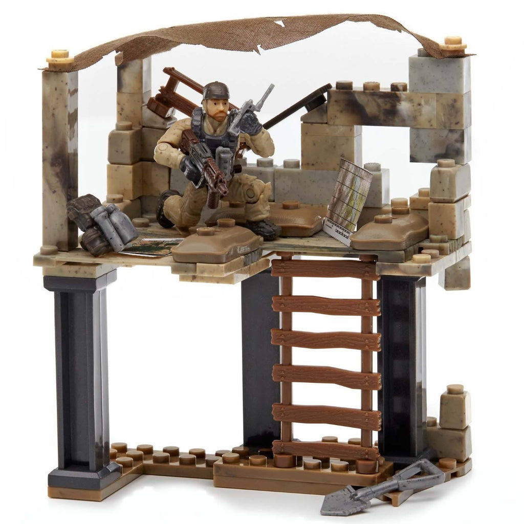 Mega Bloks Call Of Duty Recon Outpost Building Set