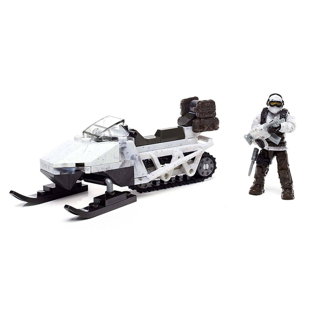 Mega Bloks Call Of Duty Snowmobile Recon Building Set