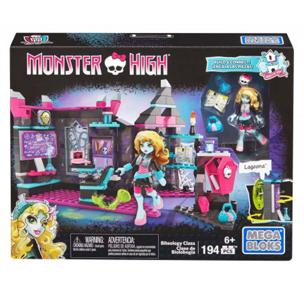 Mega Bloks - Mega Bloks Monster High Biteology Class Building Set