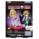 Mega Bloks - Mega Bloks Monster High Fintastic Surfing Lagoona Building Set