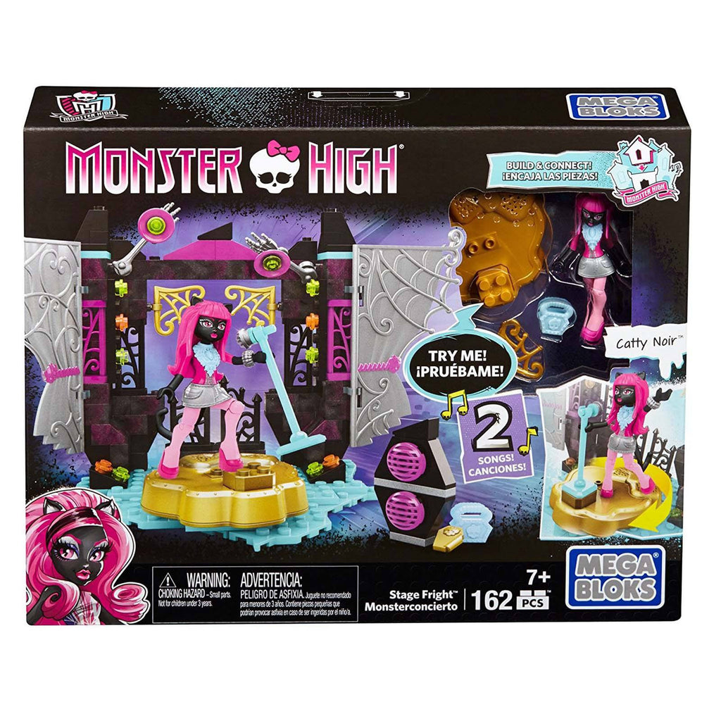 Mega Bloks Monster High Stage Fright Building Set