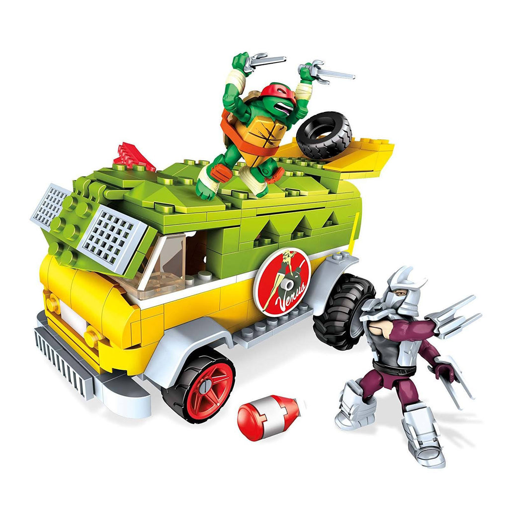 Mega Bloks Teenage Mutant Nina Turtles Party Wagon Building Set