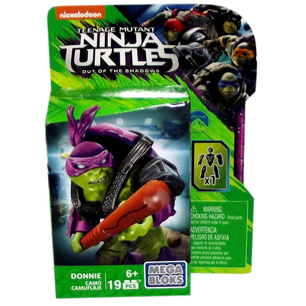 Mega Bloks Teenage Mutant Ninja Turtles Camo Donnie Figure