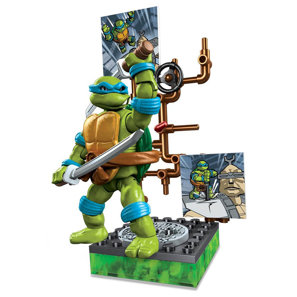 Mega Bloks Teenage Mutant Ninja Turtles Collector Classic Leonardo Figure