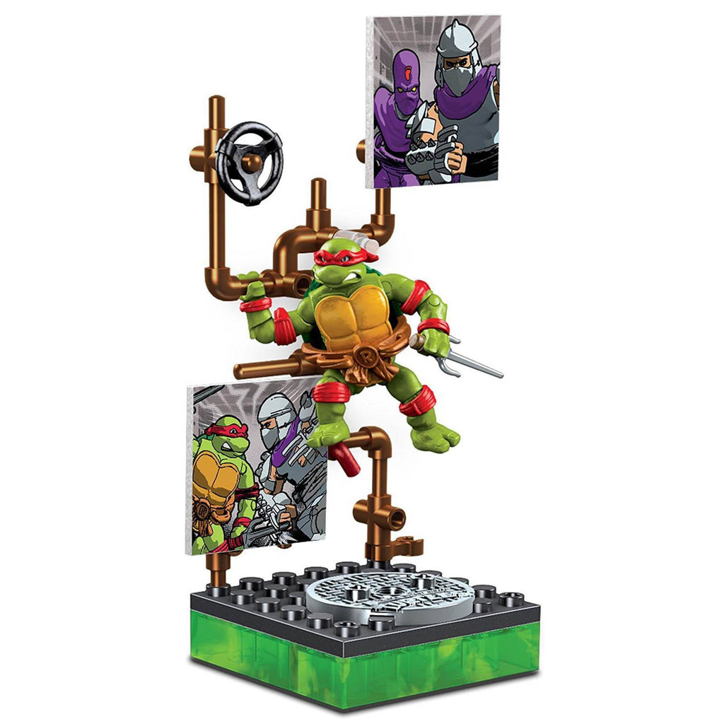 Mega Bloks Teenage Mutant Ninja Turtles Collector Classic Raphael Figure
