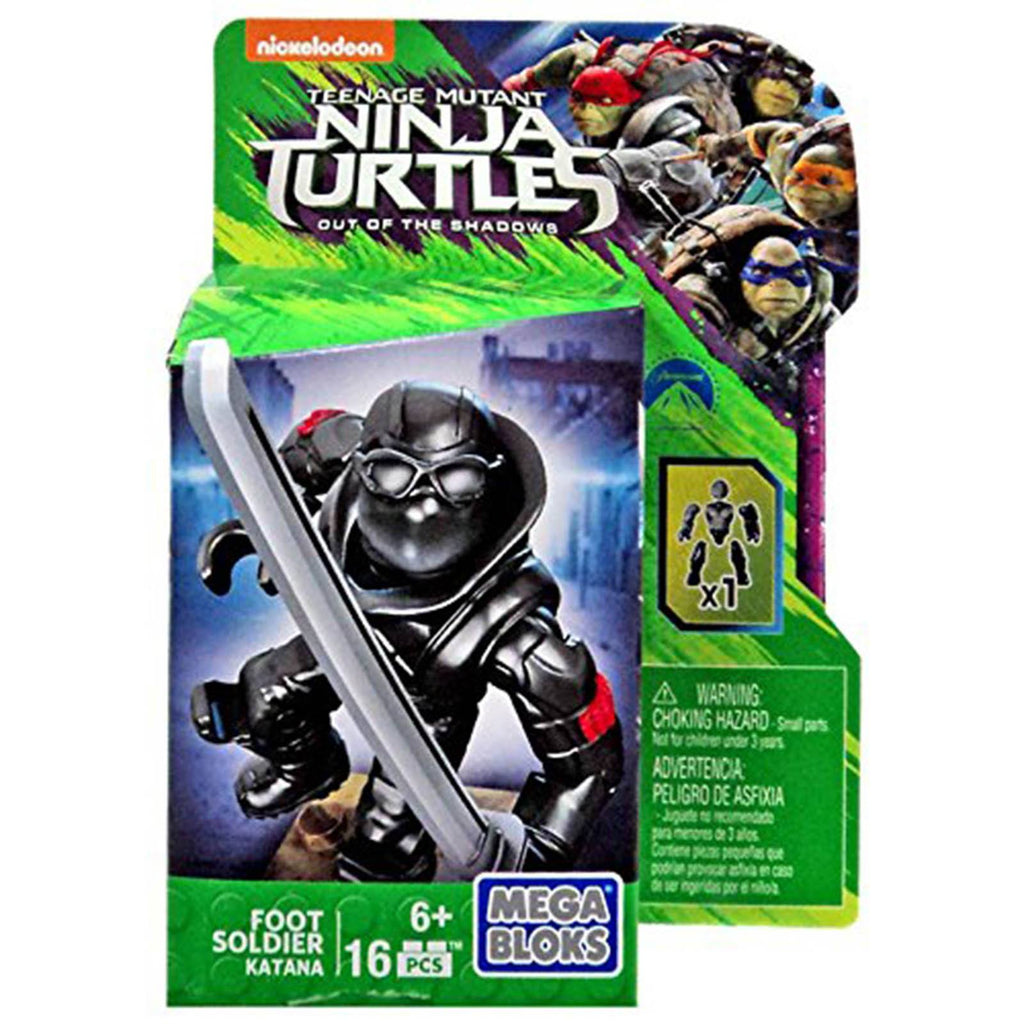 Mega Bloks Teenage Mutant Ninja Turtles Katana Foot Soldier Figure