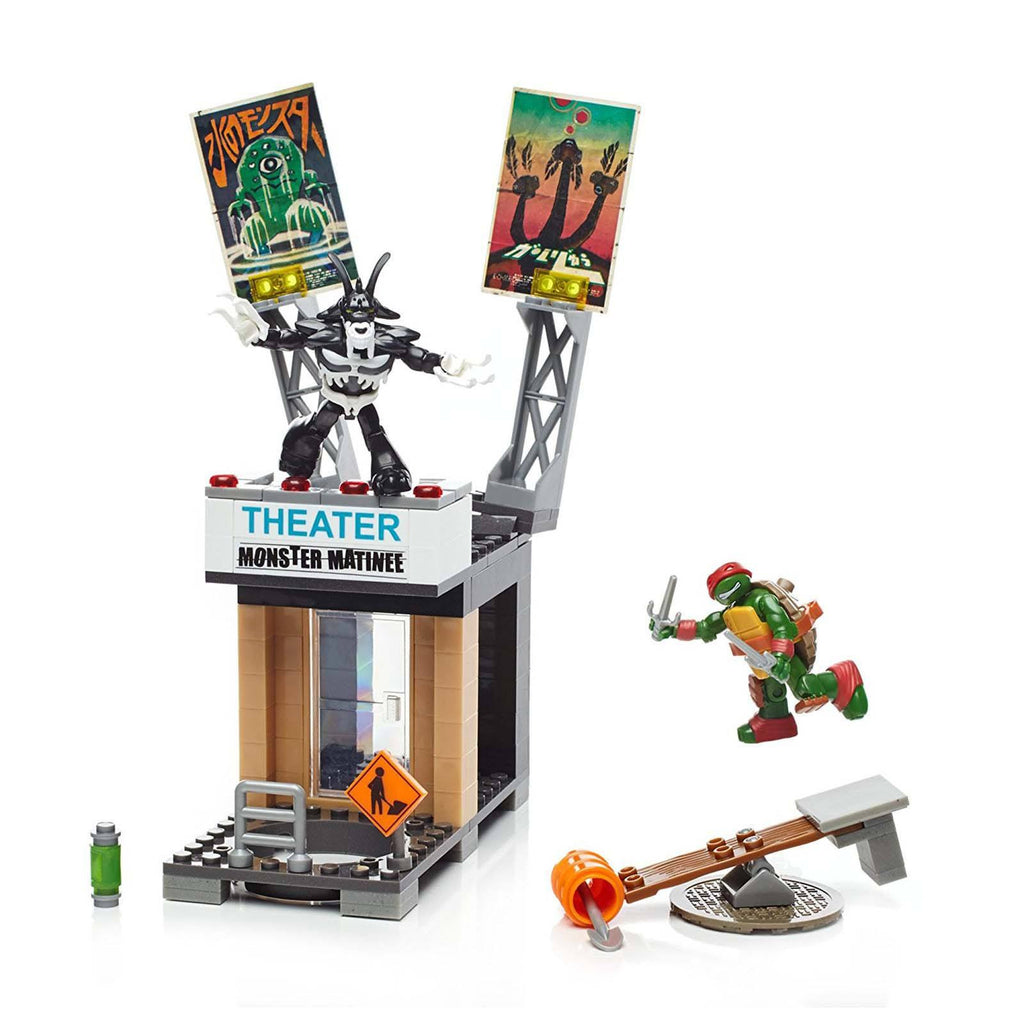 Mega Bloks Teenage Mutant Ninja Turtles Rooftop Blast-Out Raph Building Set