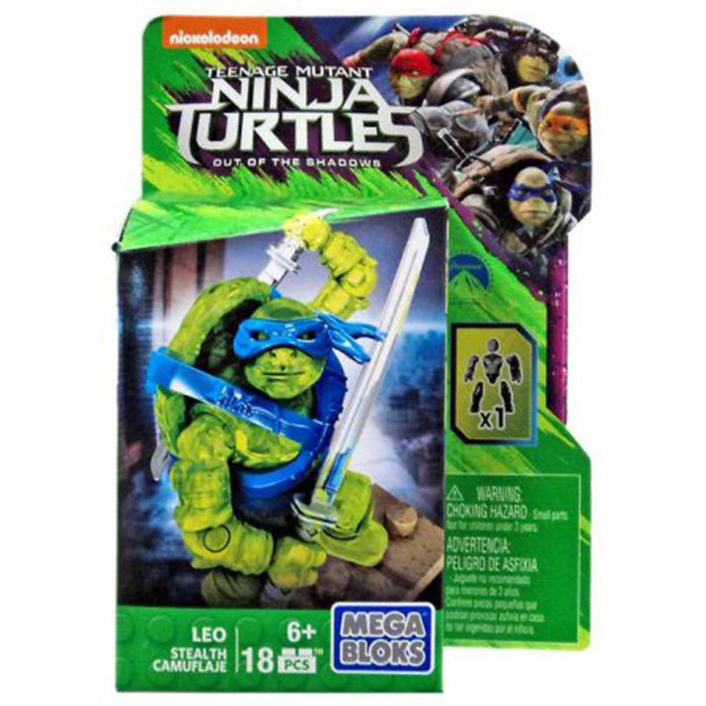 Mega Bloks Teenage Mutant Ninja Turtles Stealth Leo Figure