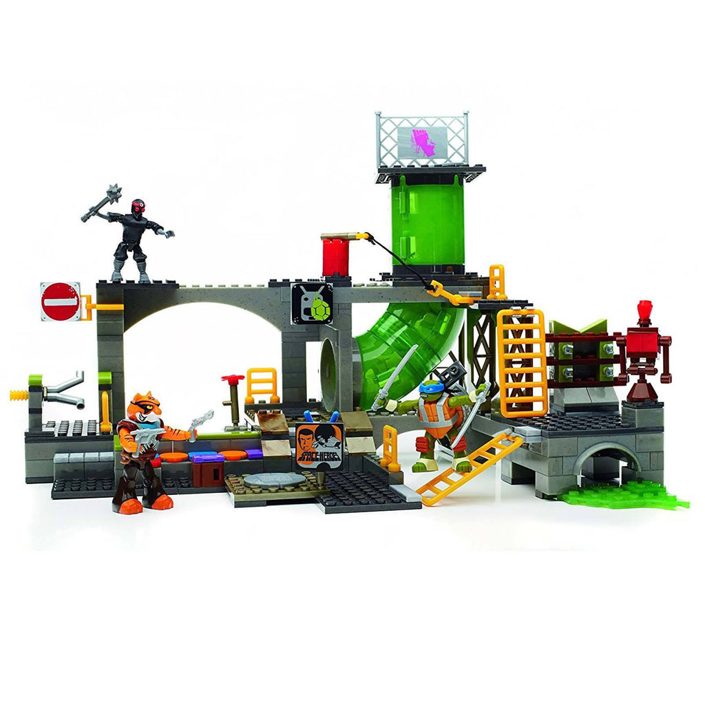 Mega Bloks - Mega Bloks Teenage Mutant Ninja Turtles Turtle Sewer Lair Building Set