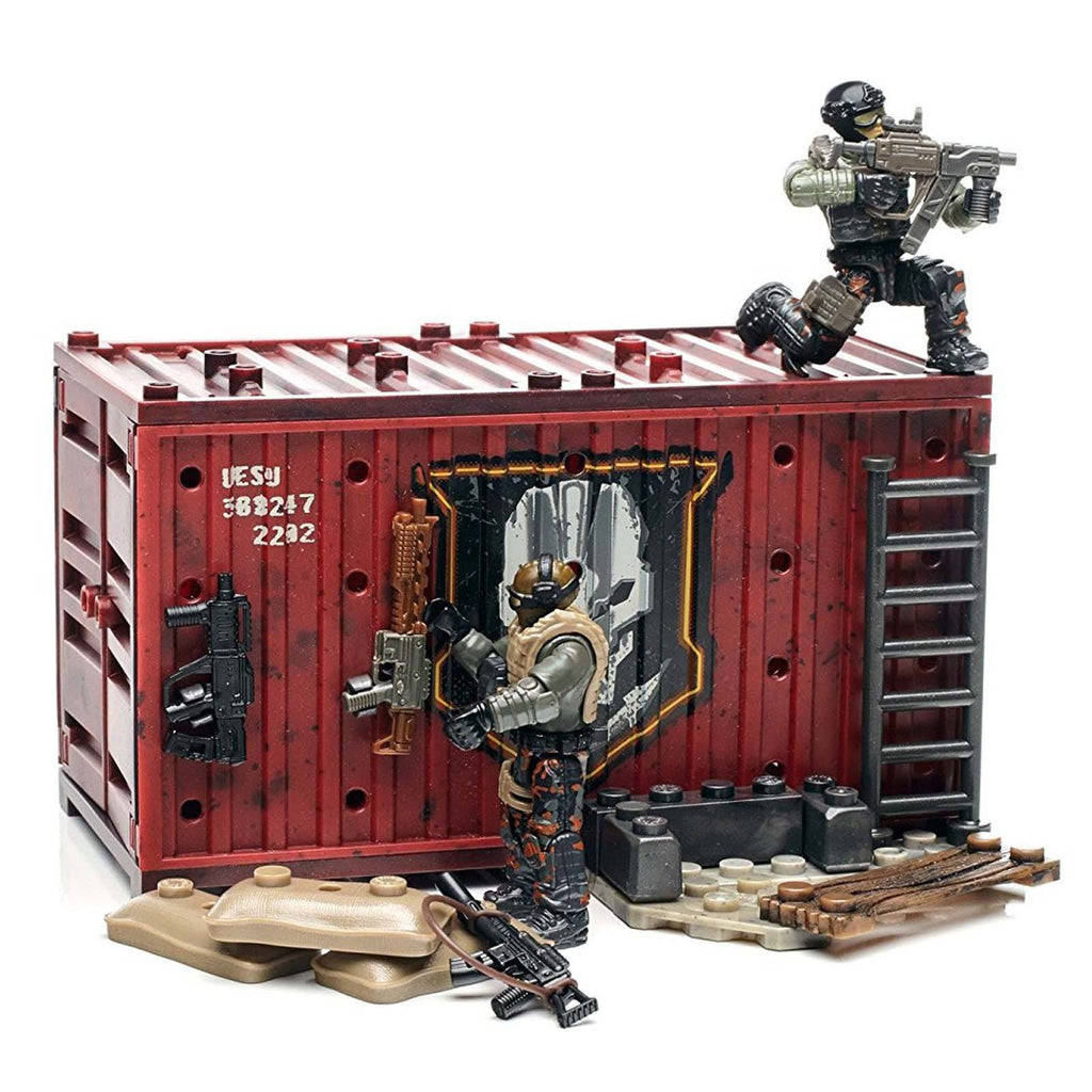 Mega Construx Call Of Duty Mercenary Outpost Building Set