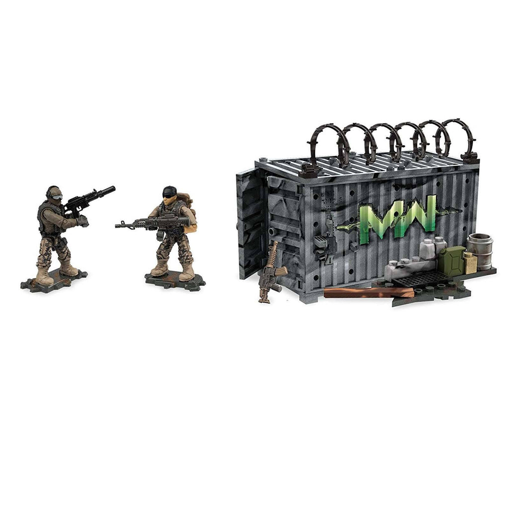 Mega Construx Call Of Duty Modern Infantry Armory Building Set