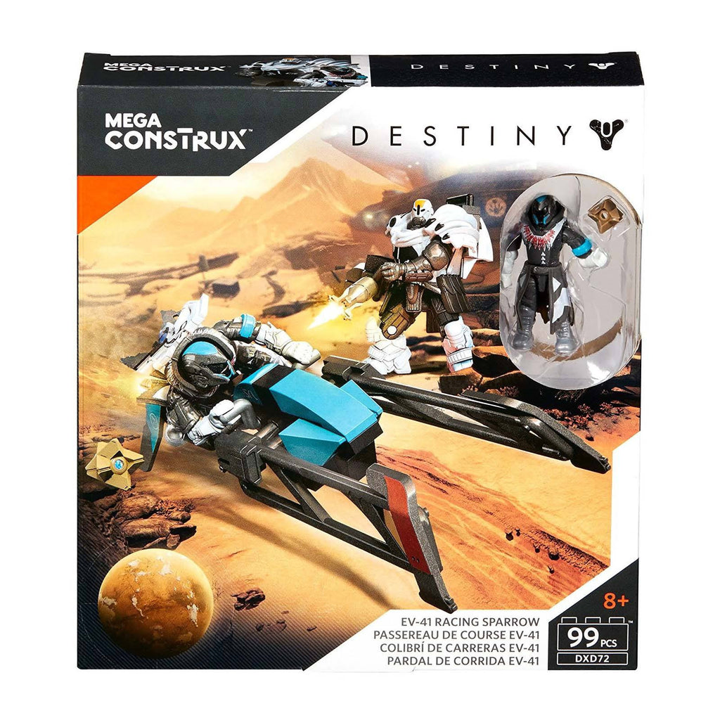 Mega Construx Destiny EV-41 Racing Sparrow Building Set