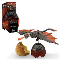 Mega Bloks - Mega Construx Game Of Thrones Black Series Drogon Building Set
