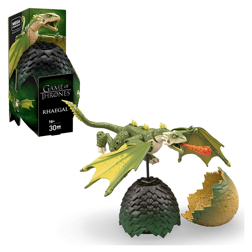 Mega Bloks - Mega Construx Game Of Thrones Black Series Rhaegal Building Set